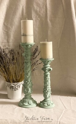French Country Inspired Candlesticks
