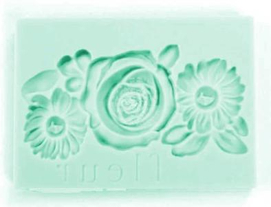 IOD Fleur Decor Mould 2.5x3.5