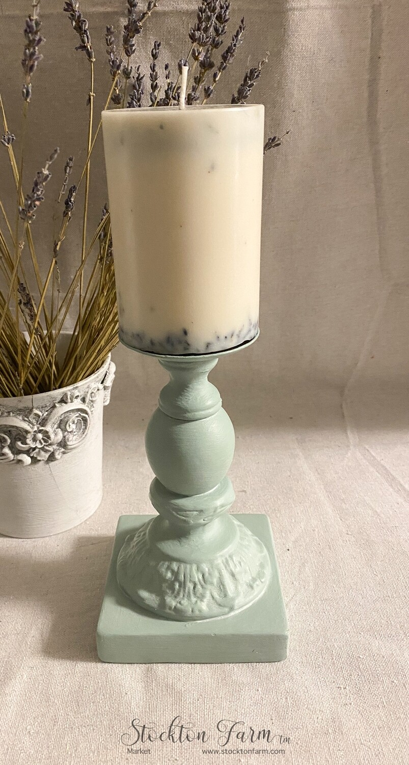 French Country Design Candlestick