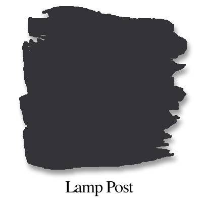 Bungalow 47 Chalk Style Paint Lamp Post