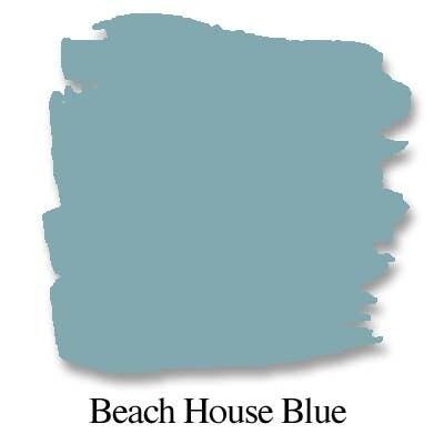 Bungalow 47 Chalk Style Paint Beach House Blue