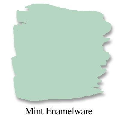 Bungalow 47 Chalk Style Paint Mint Enamelware