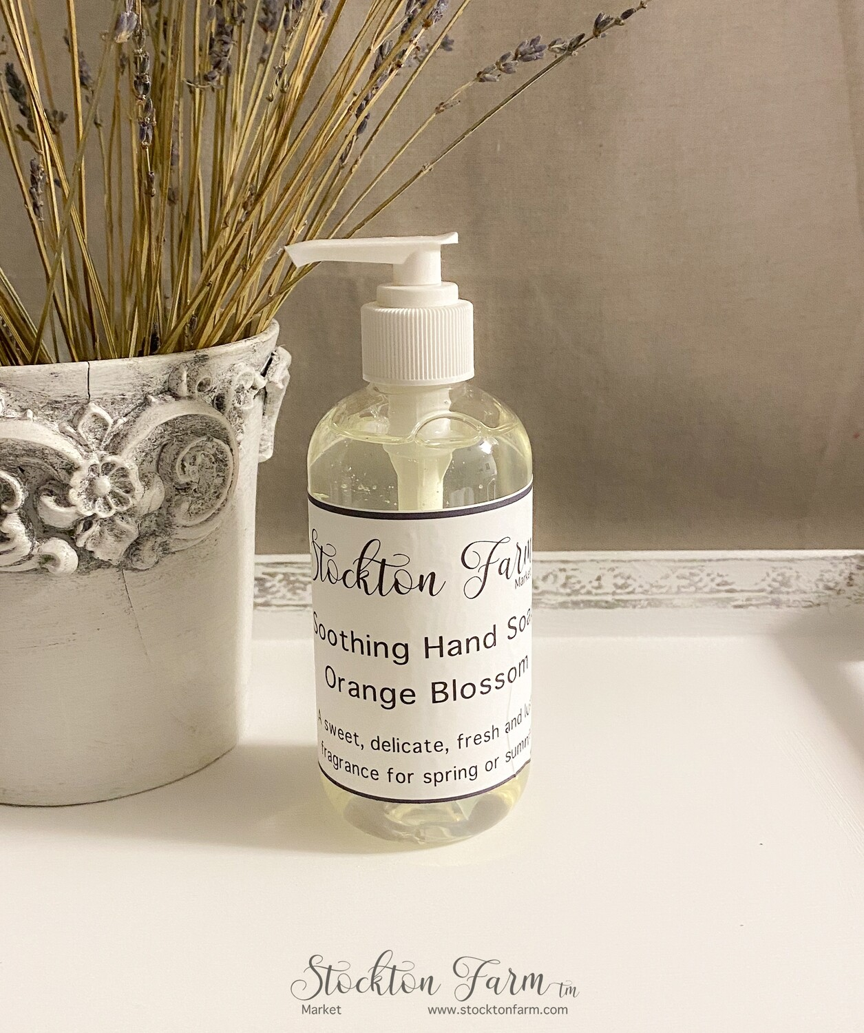 Orange Blossom Soothing Hand Soap 8oz