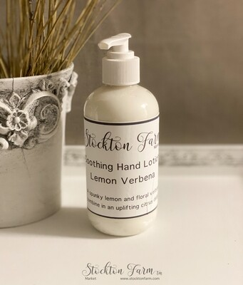 Lemon Verbena Soothing Hand Lotion 8oz