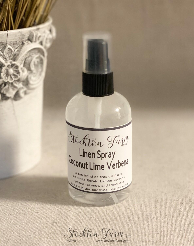 Coconut Lime Verbena Pillow & Linen Spray 4oz