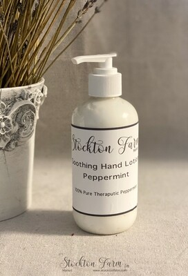 Peppermint Soothing Hand Lotion 8oz
