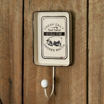 General Store Hook with Decorative Tray