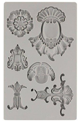 IOD BAROQUE 2 5x7 Decor Mould