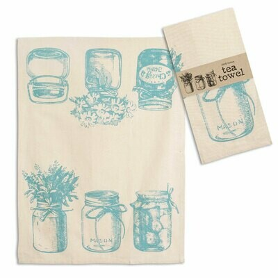 Canning Jars Tea Towel - Free Shipping!