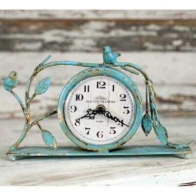 Old Town Clocks Songbird Mantel Clock