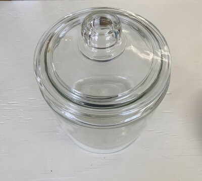 Anchor Hocking Clear Glass Canister with Lid - 1 Gallon