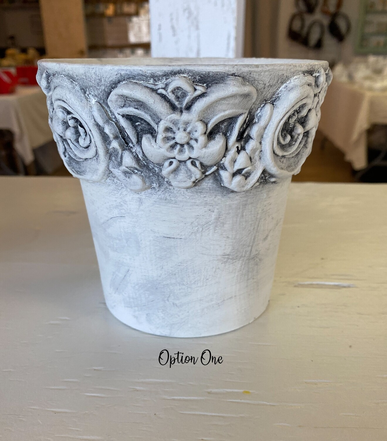 Decorative Clay Flower Pot