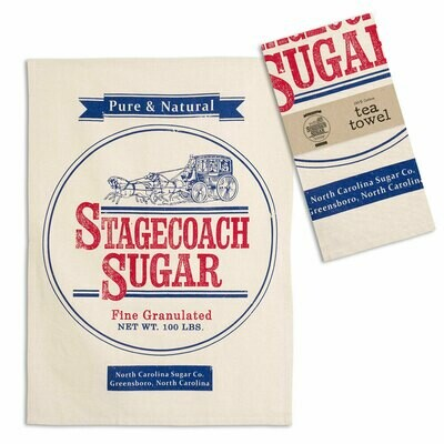 Sugar Sack Tea Towel 100% Cotton - Free Shipping!