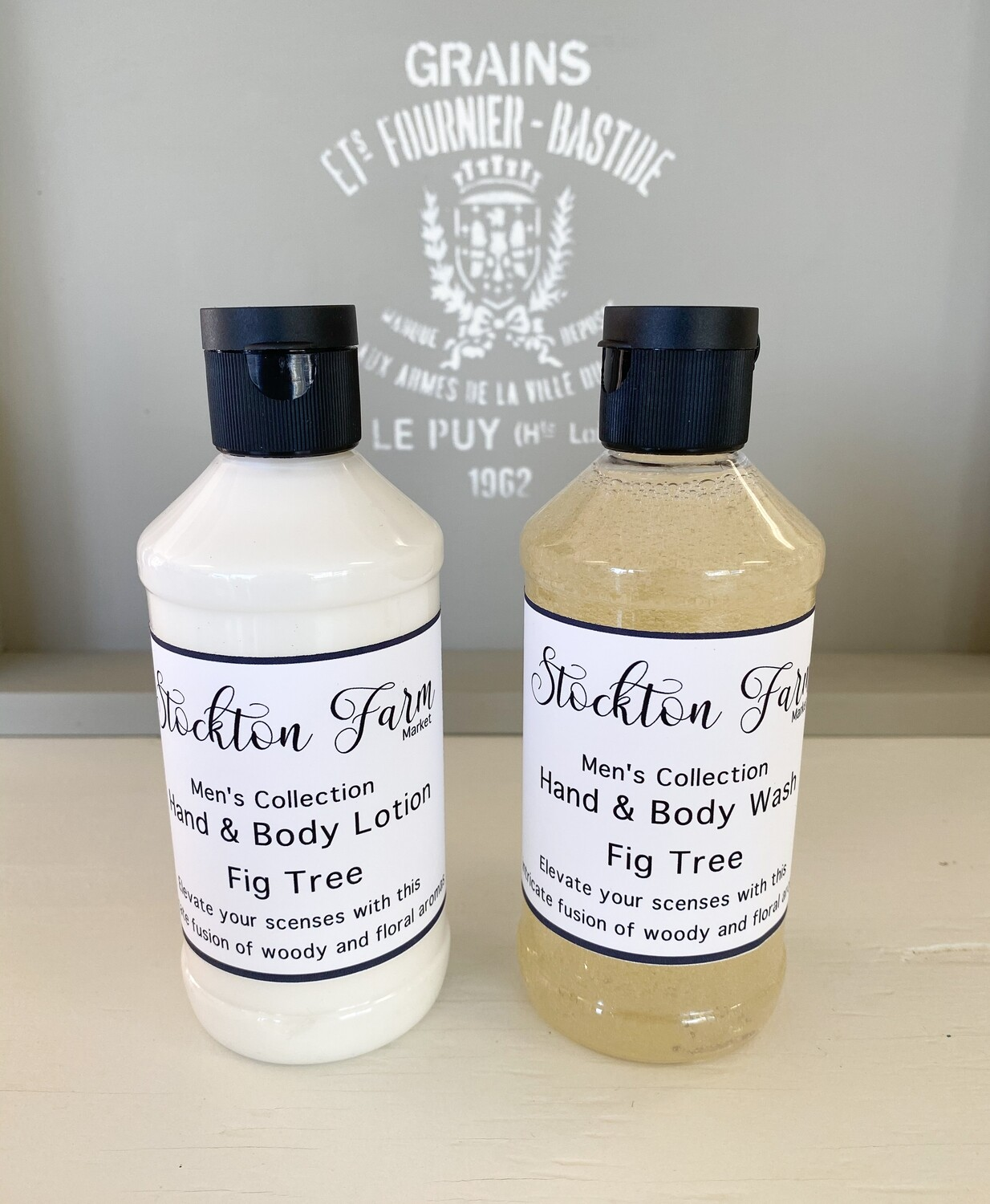 Men's Collection Fig Tree Lotion & Wash