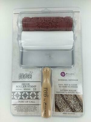 IOD Decor Roller Stamp - Port of Call