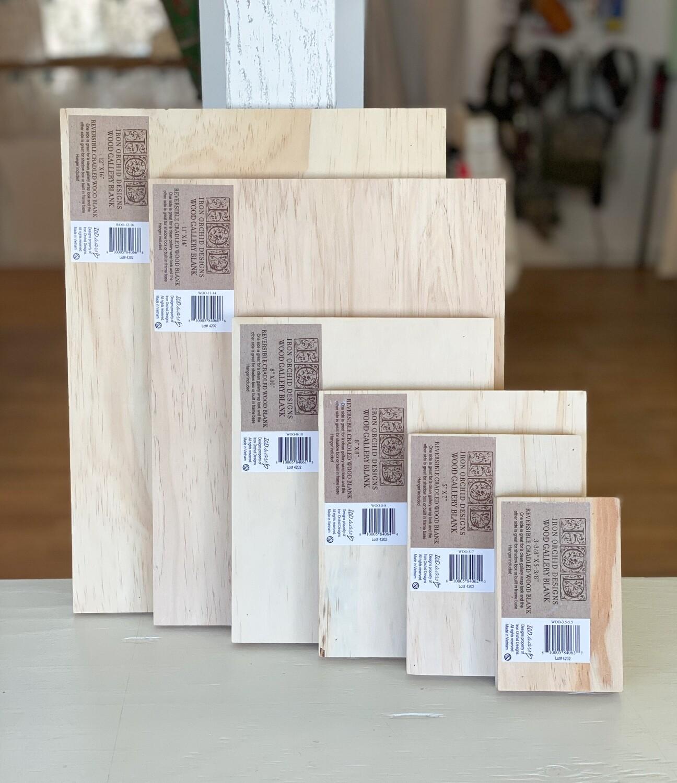 IOD Wood Gallery / Art Panel Blanks