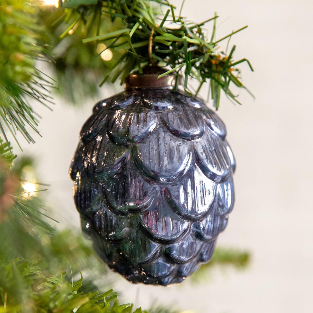 Handcrafted Artichoke Glass Ornament