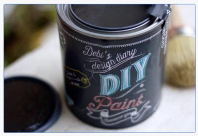 DIY Paint Black Velvet