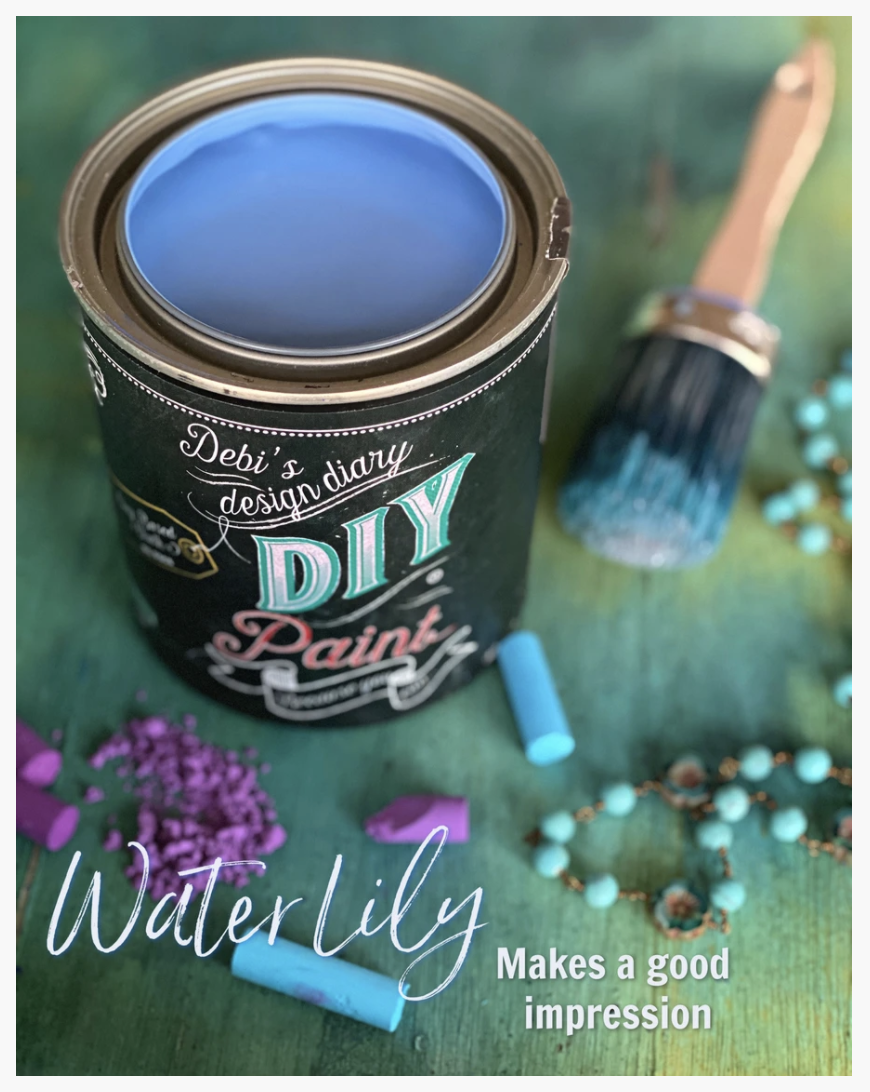 DIY Paint Water Lily