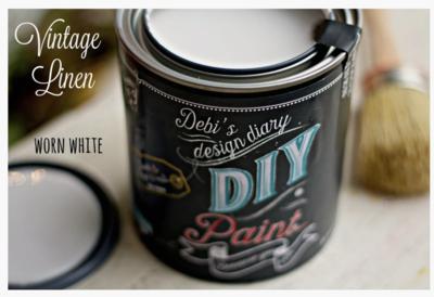 DIY Paint Vintage Linen