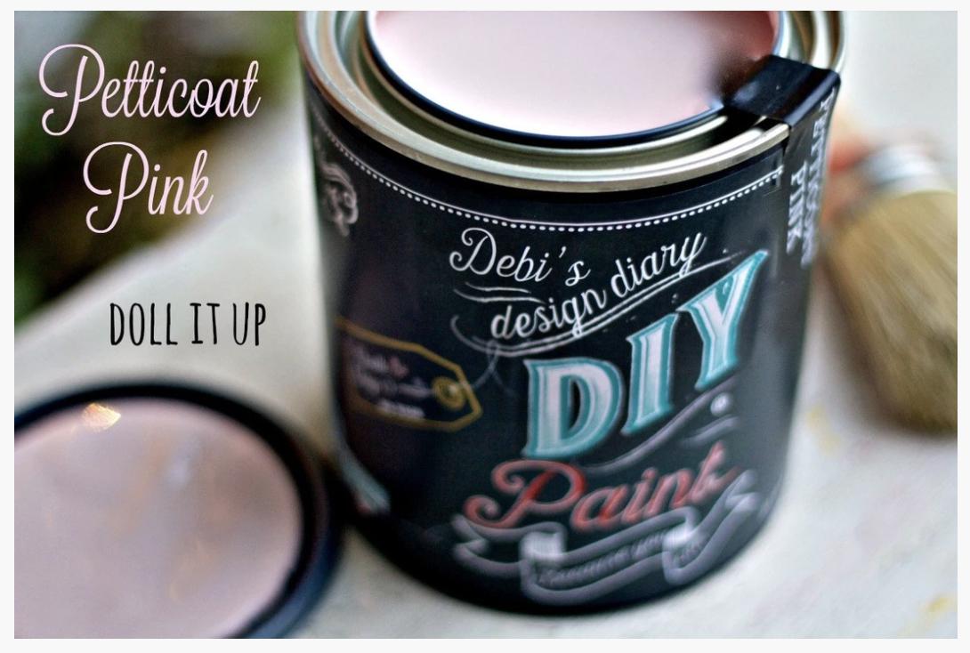 DIY Paint Petticoat Pink