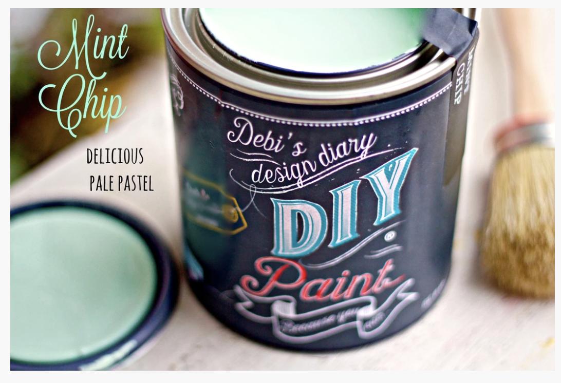 DIY Paint Mint Chip