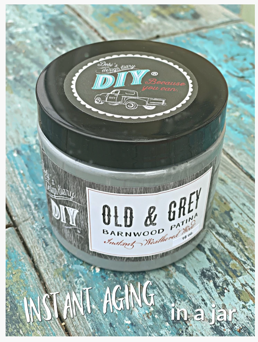 DIY Paint Old & Grey (Barnwood Liquid Patina)