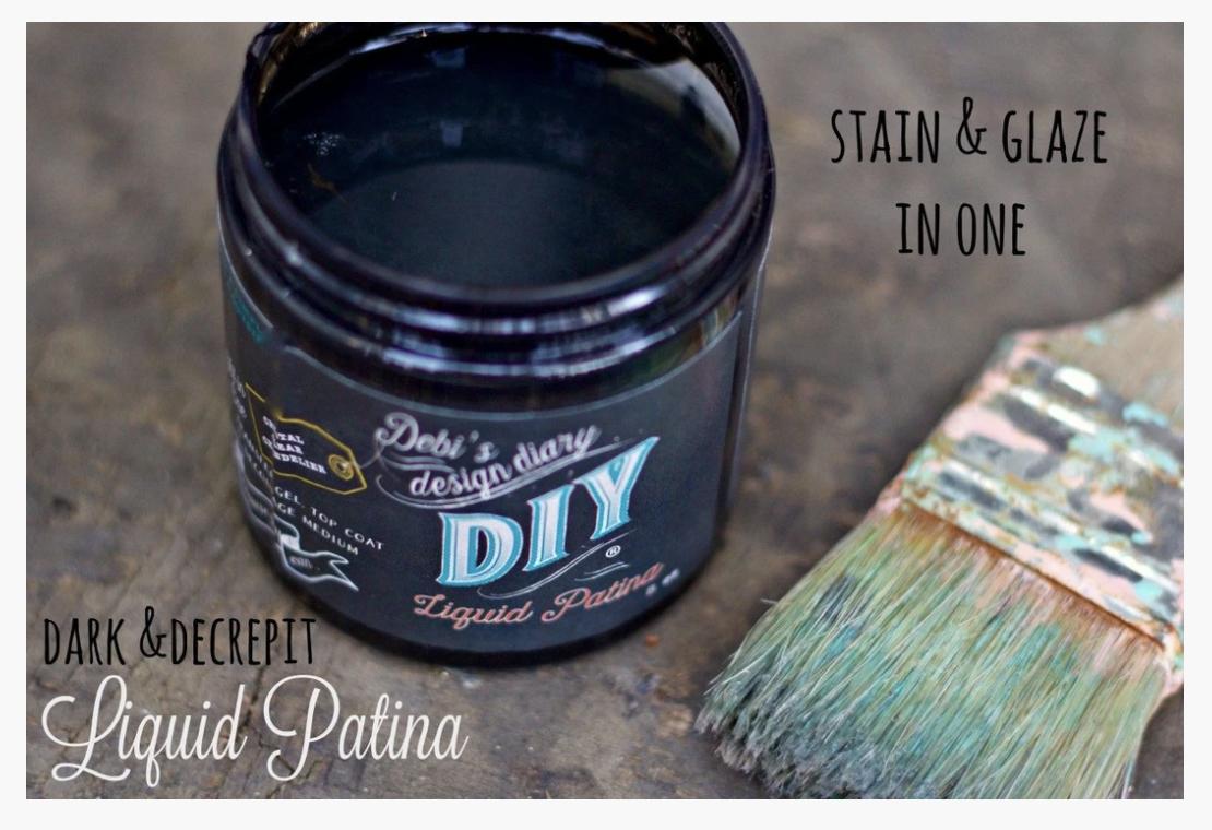 DIY Dark & Decrepit Liquid Patina