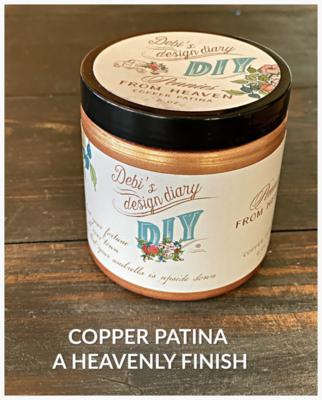 DIY Paint Copper Liquid Patina