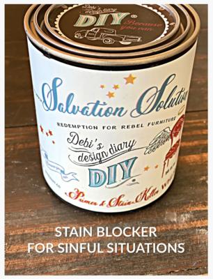 DIY Paint Salvation Solution Wood Stain Blocker