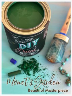DIY Paint Monet's Garden (deep green)