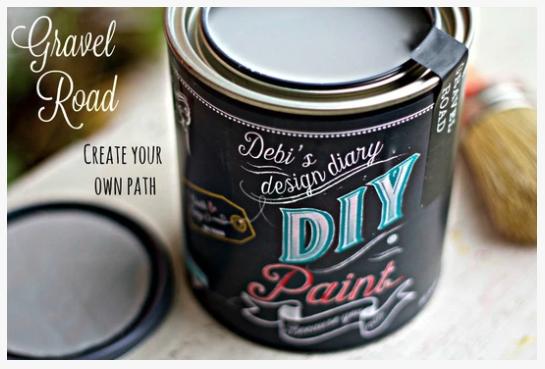 Gravel Road DIY Paint