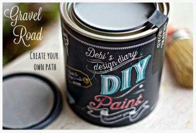 DIY Paint Gravel Road