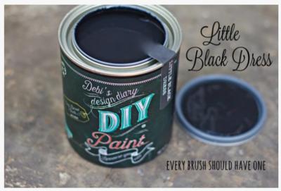 DIY Paint Little Black Dress