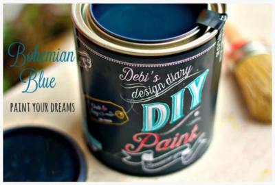 DIY Paint Bohemian Blue