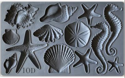 IOD Sea Shells 6×10 DECOR MOULD