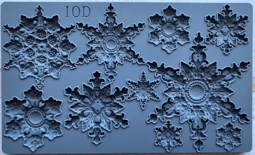 SNOWFLAKES 6×10 DECOR MOULD