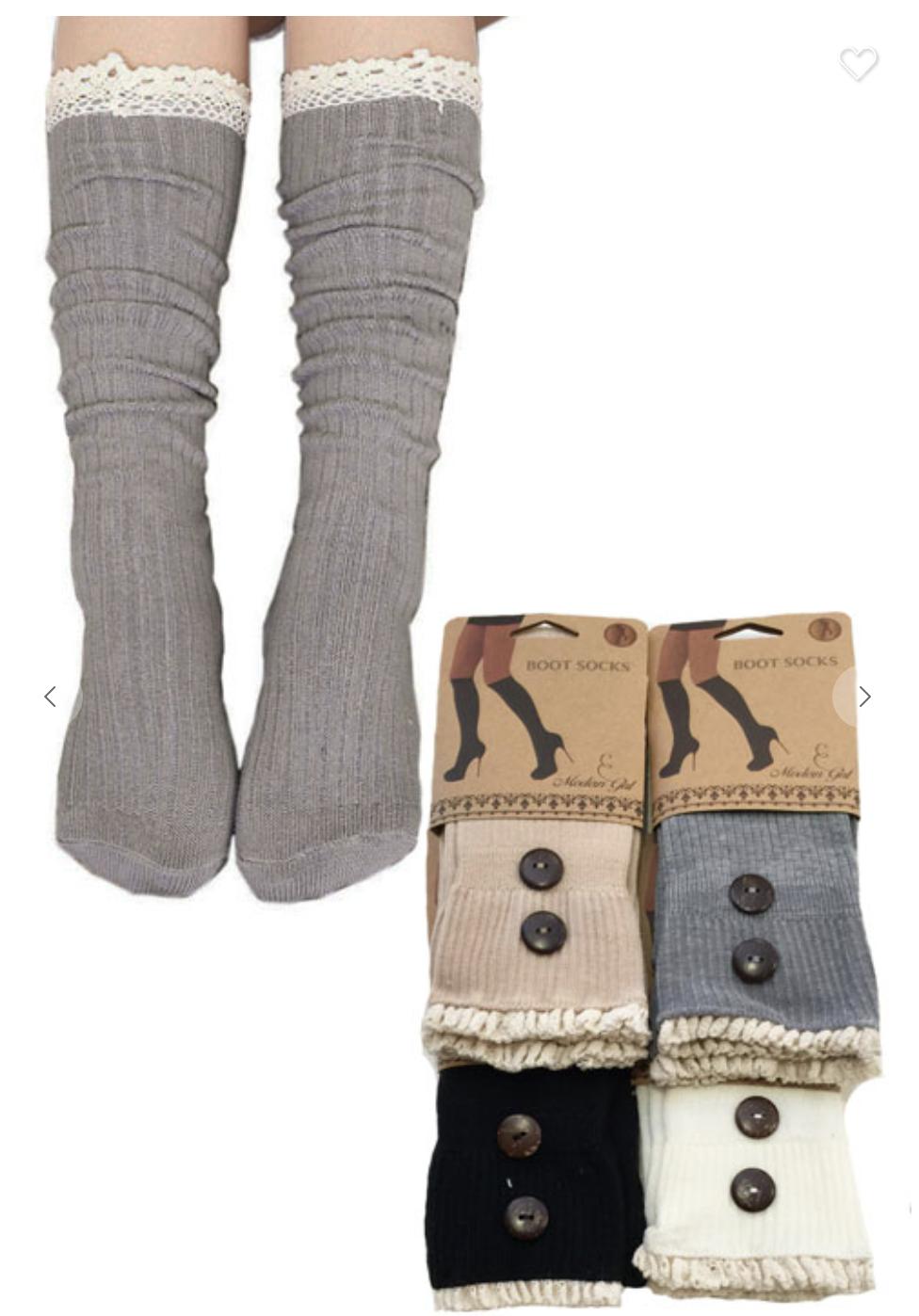 Ladies Knee-High Socks