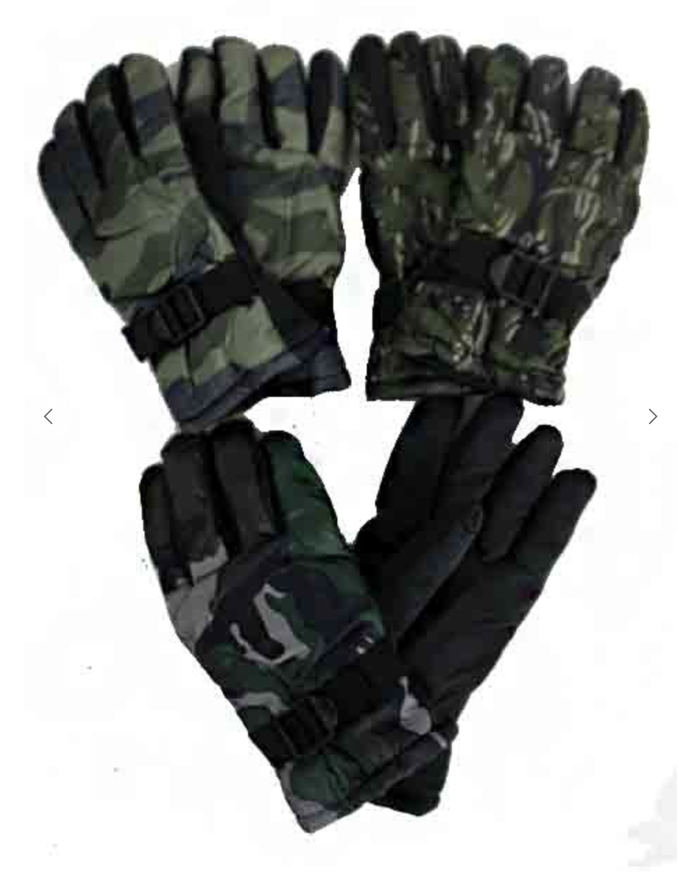 Men's Winter Camouflage Gloves - Free Shipping