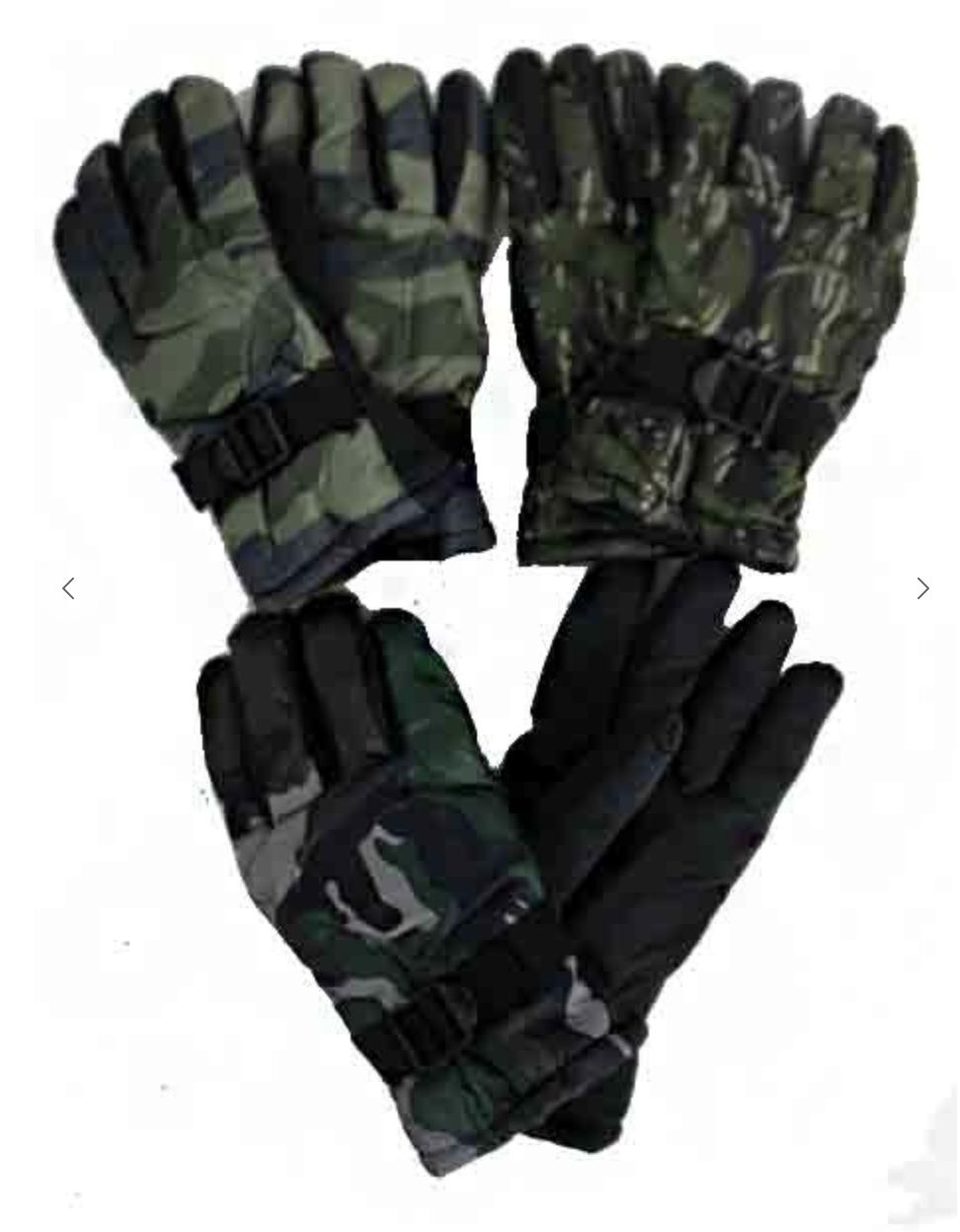 Men's Winter Camouflage Gloves