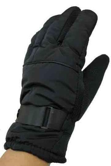 Men's Black Winter Gloves