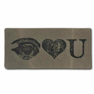 I Luv You Eyeglass Case