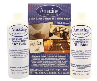 Alumilite Amazing Clear Casting Resin 16oz