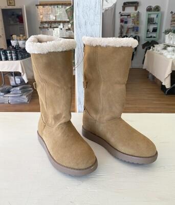 Universal Thread Chestnut Women's Bela Suede Cuff Boots