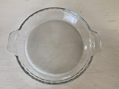 "Anchor Hocking 9.5"" Deep Pie Plate"