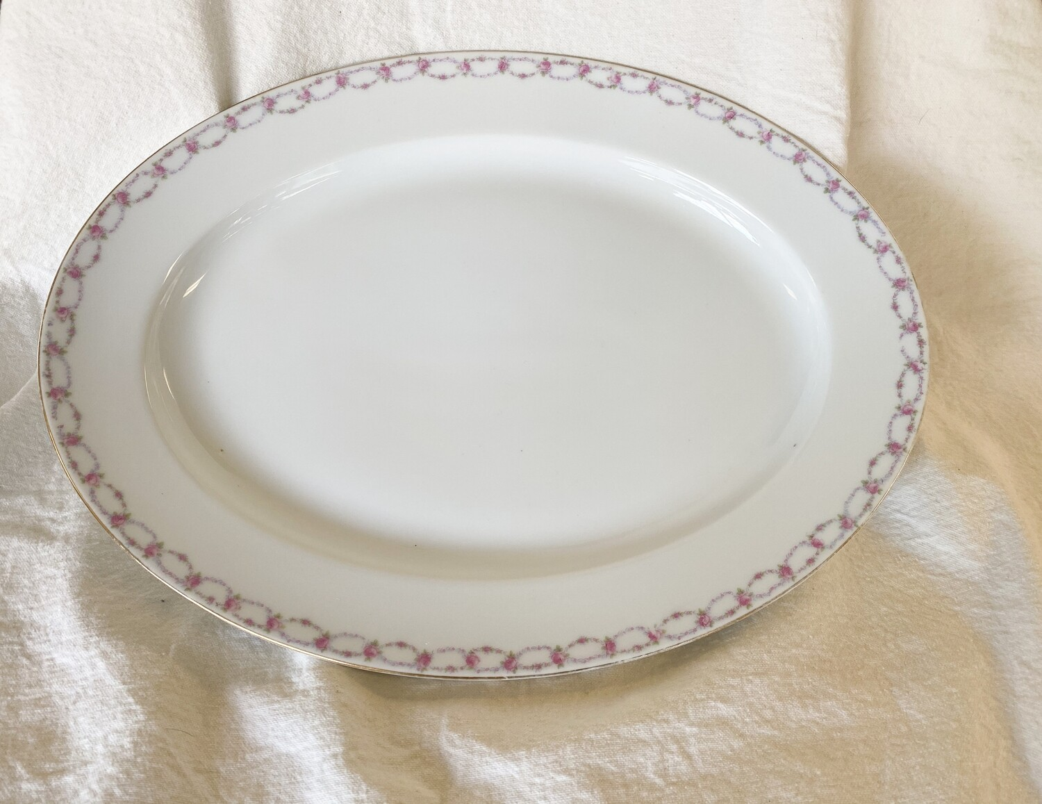 Hand Painted Nippon Platter