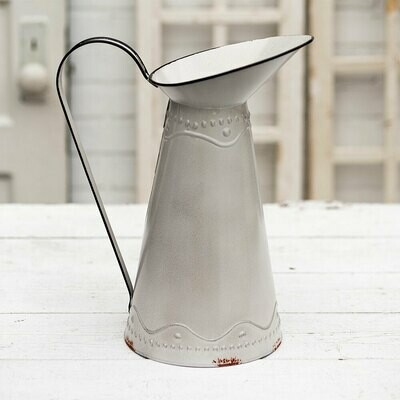 Narrow Pitcher with Large Spout