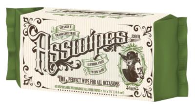 Asswipes 45 Pack