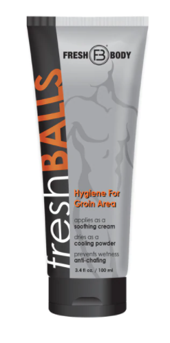 Fresh Balls - Hygiene for Groin Area