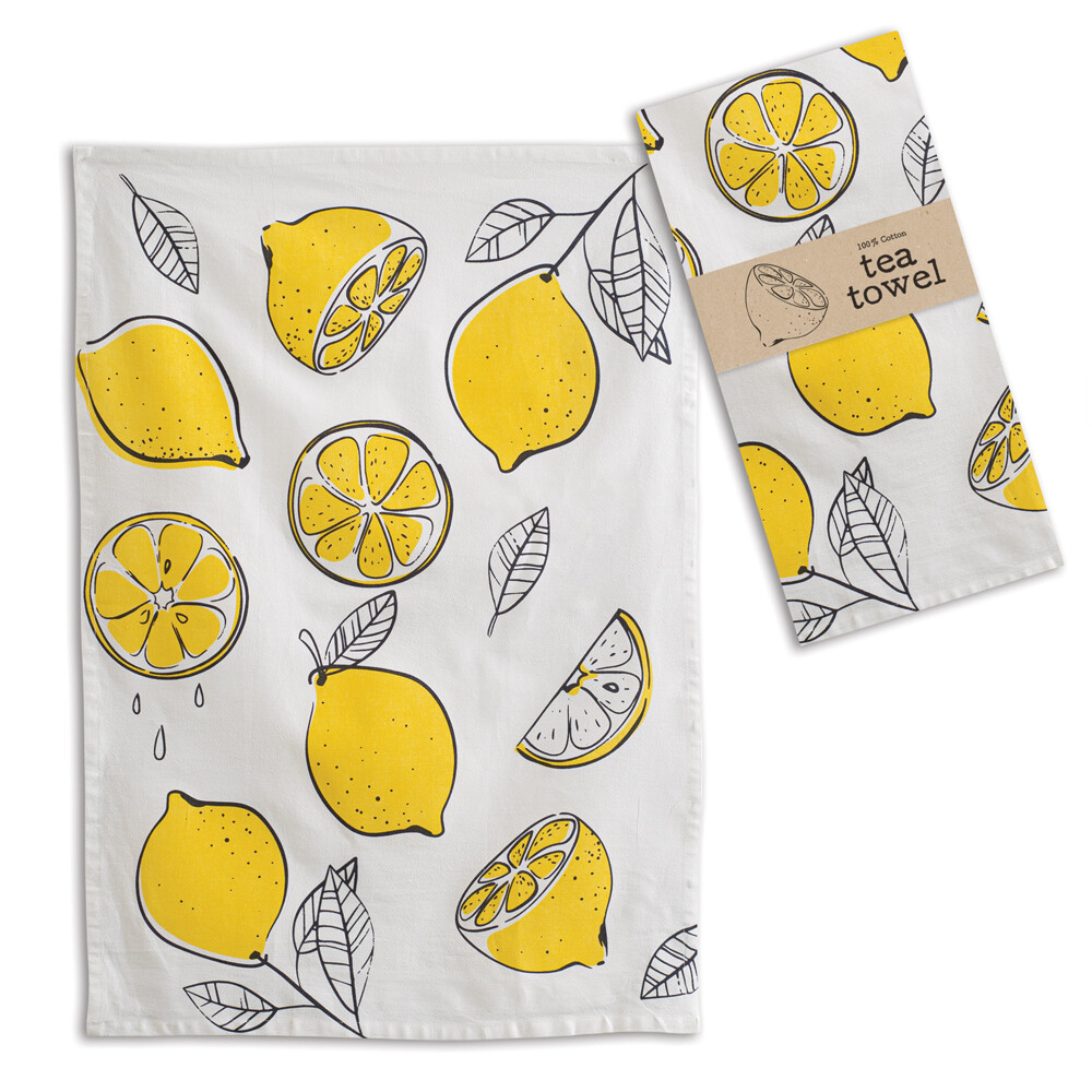 Lemons Tea Towel 20''x28''